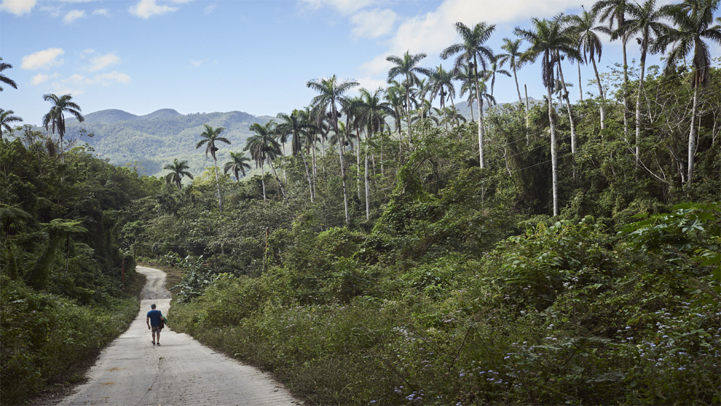 Trekking to Topes, western cuba